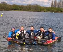 The CUCC BUCS Canoe Polo Team 2016